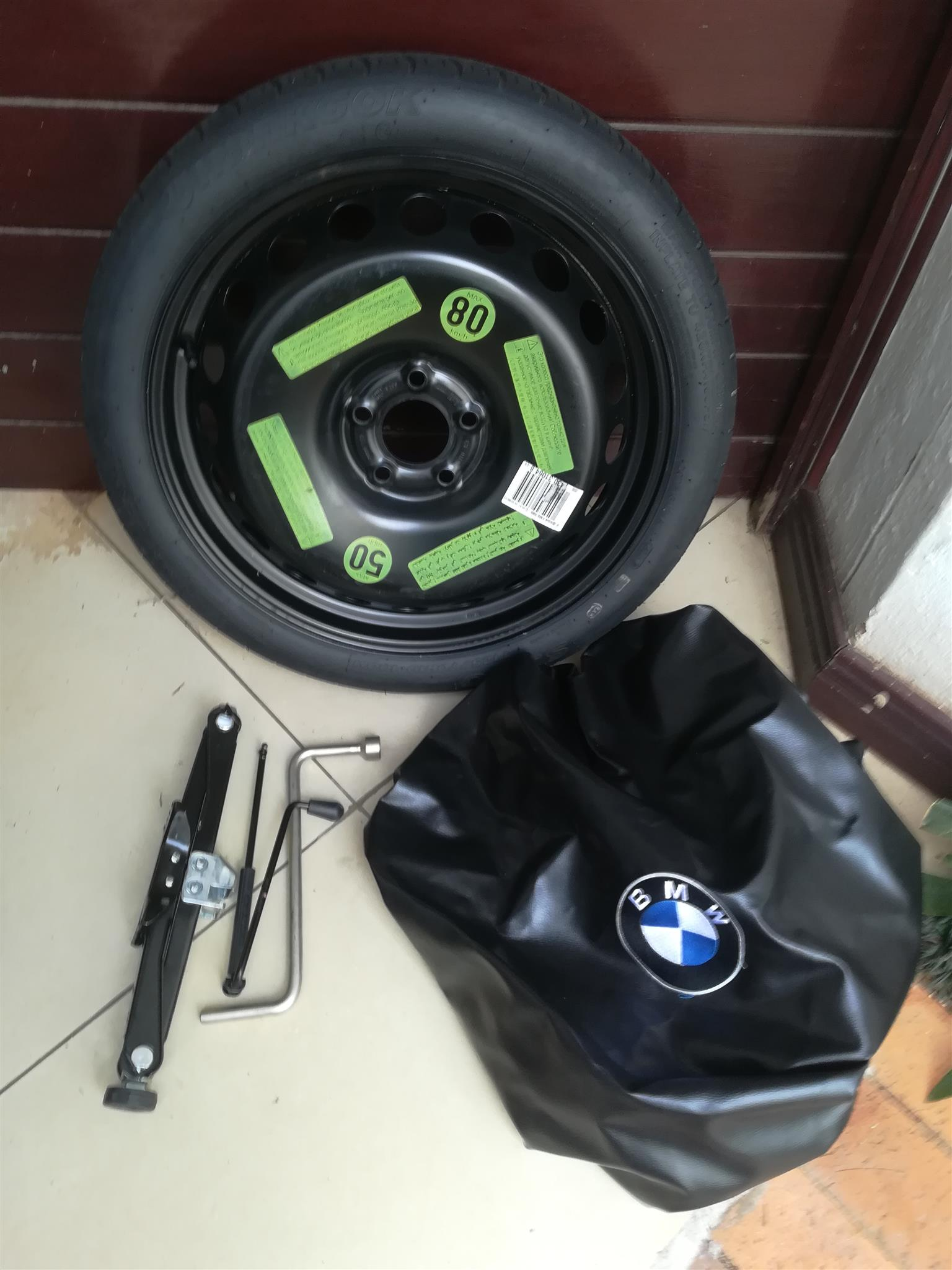 Bmw E90 E92 E93 V8 M3 19 Inch Space Saver Spare Wheel With Bag And Tools Junk Mail