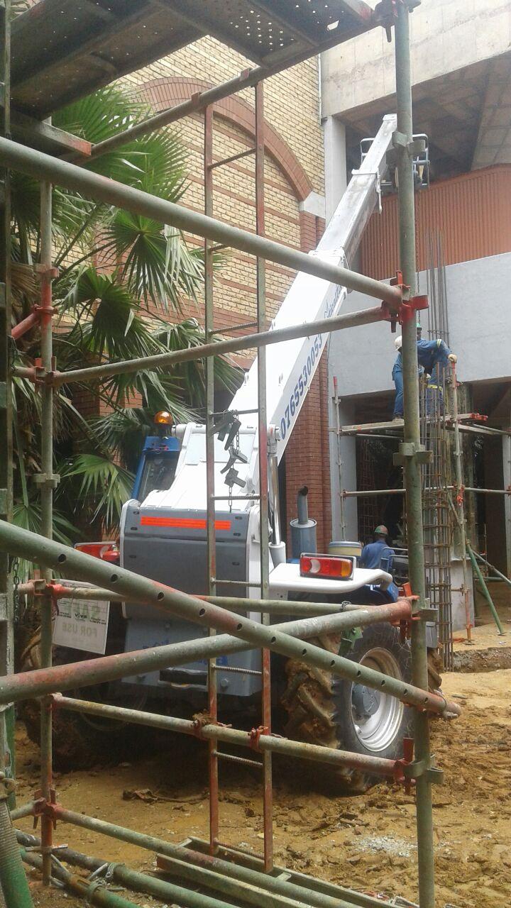 FORKLIFT Telehandler VerticalZA Manitou MT1235 -, 3.5 ton 12m TELESCOPIC