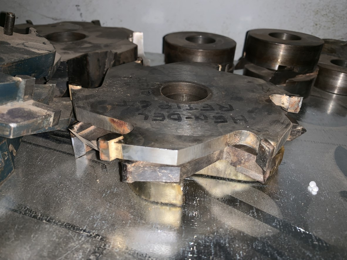 Special Cutter Blocks, used
