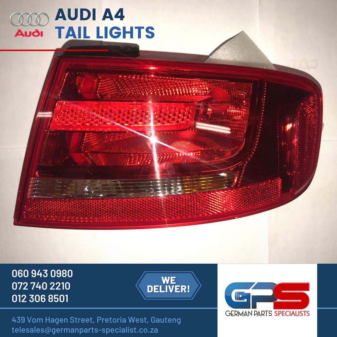 Audi A4 New Tail Lights & Used Spares