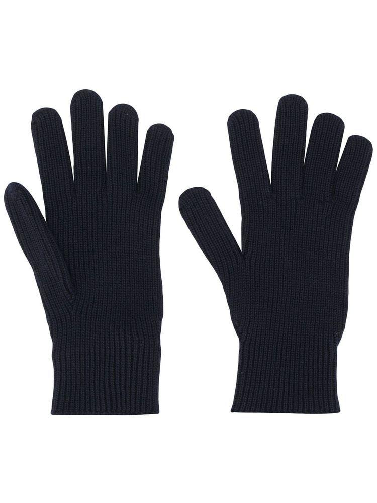 Knitted Gloves - Black