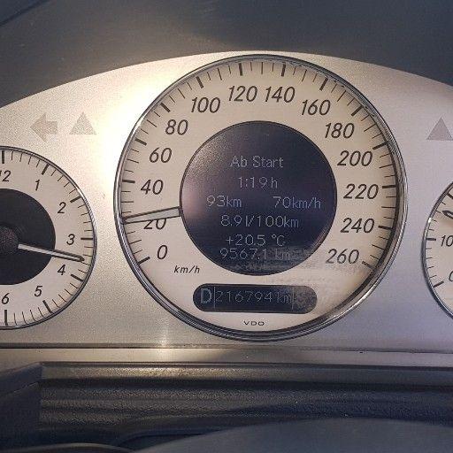 2004 Mercedes Benz E Class E250