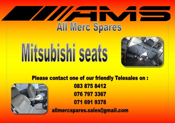 MITSUBISHI SEATS FOR SALE