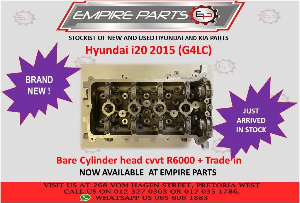 HYUNDAI I20 2015 (G4LC) BARE CYLINDER HEAD CVVT