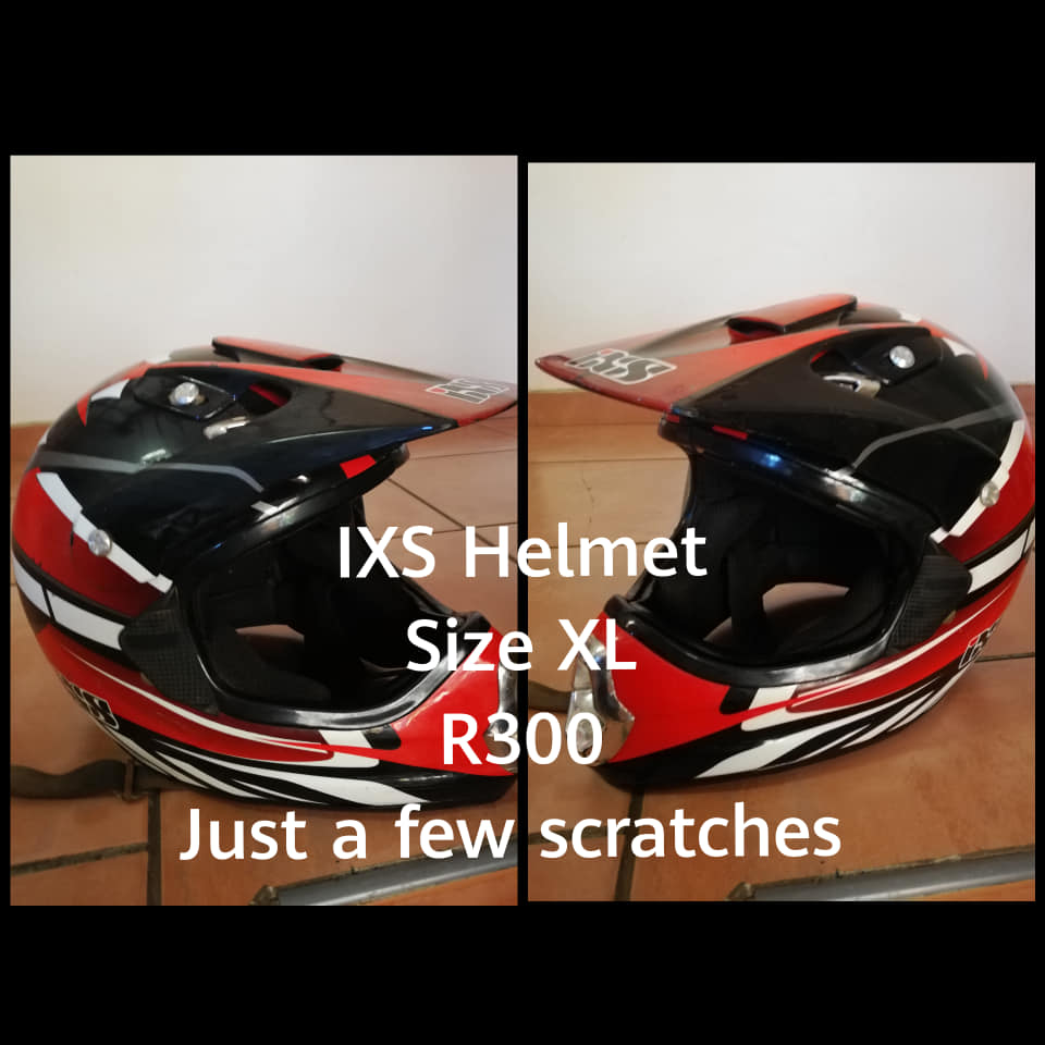 Red ISX Helmet XL for sale