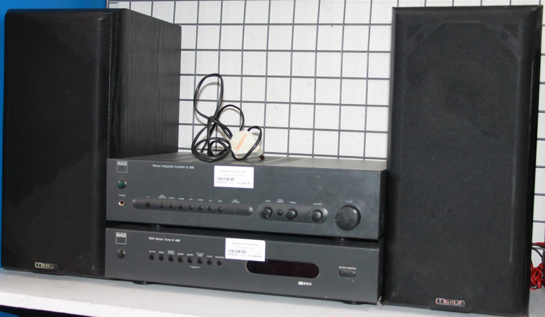 S034513A NAD sound system #Rosettenvillepawnshop