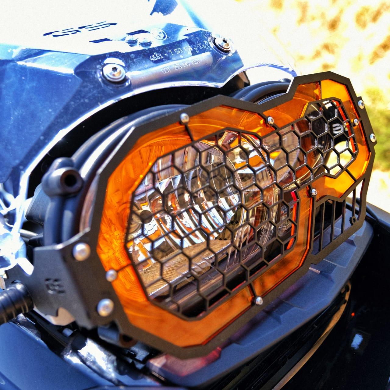 BMW 1200 GS headlight guards