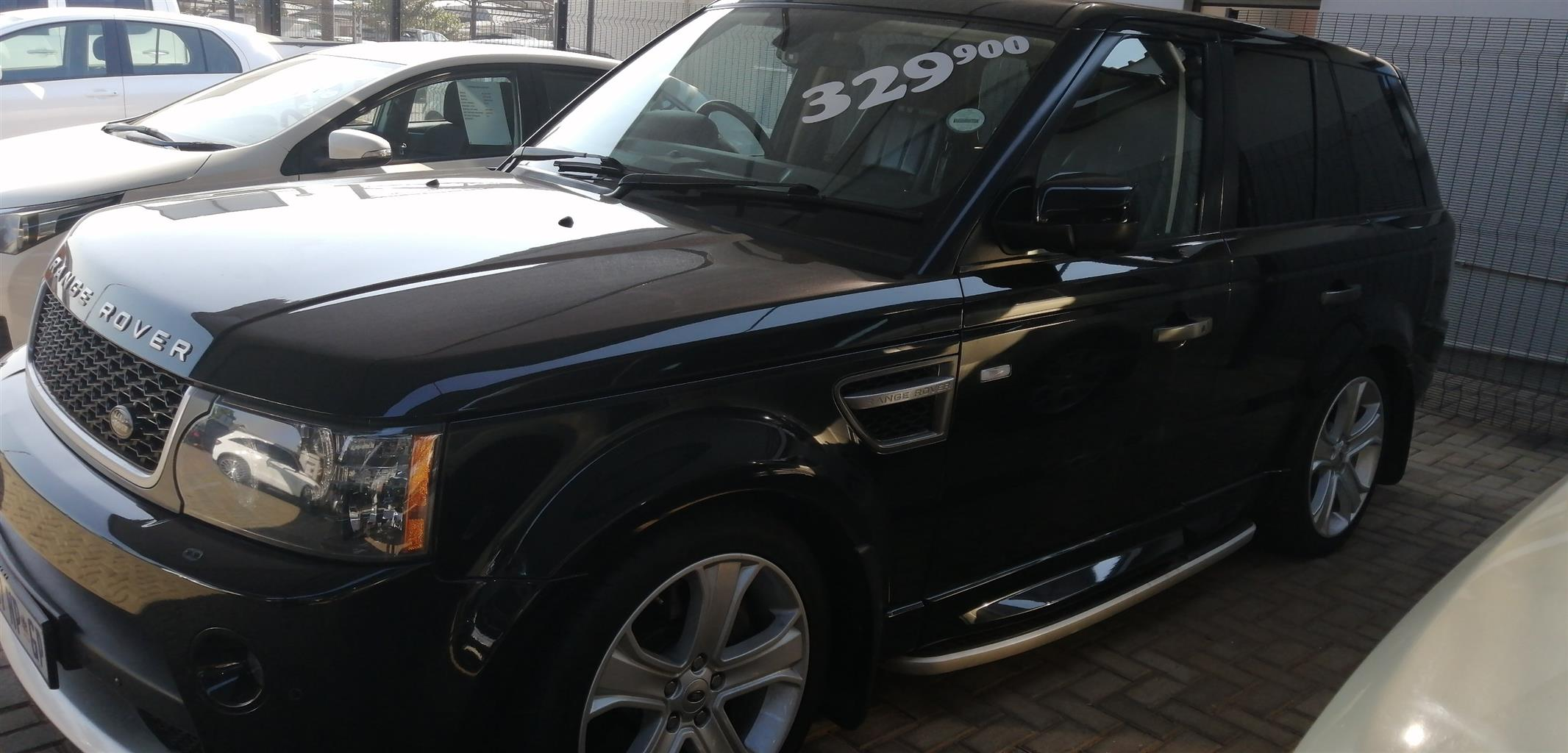 2010 Land Rover Range Rover Sport Supercharged Autobiography Sport