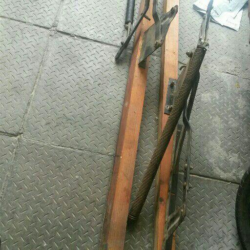 garage door hinges with springs
