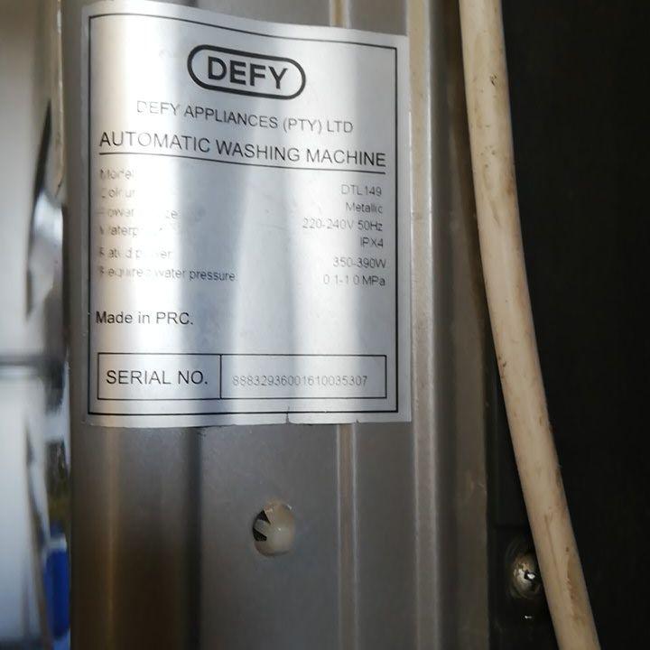 laybuy Combo Defy fridge & 13kg top loader