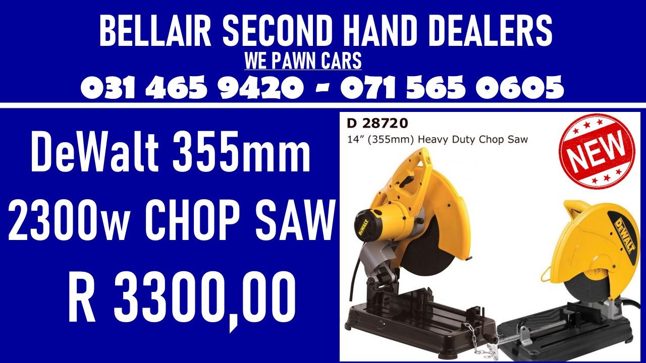 Dewalt 355mm 2300w Chop Saw for Sale