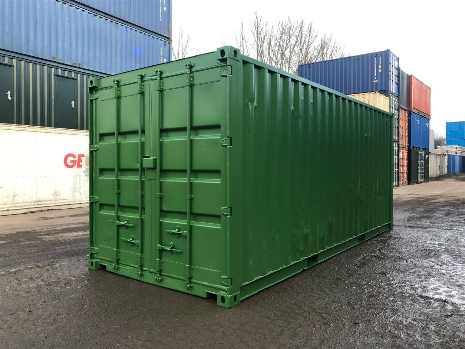 Newly painted second ahnd 6M shipping containers for sale