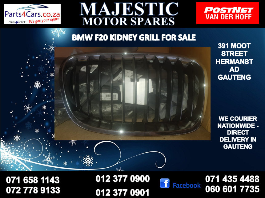 Bmw f20 kidney grill for sale