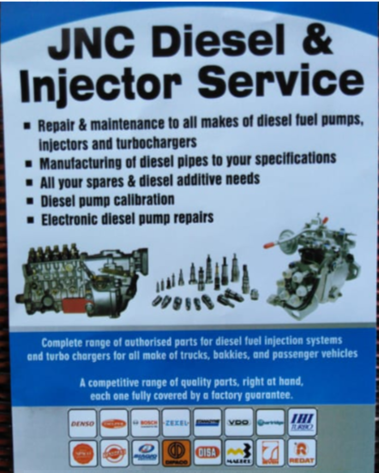 JNC Diesel and Injector services | Junk Mail