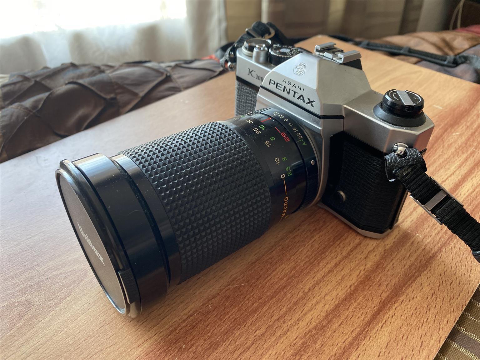 Pentax K1000 35mm film camera