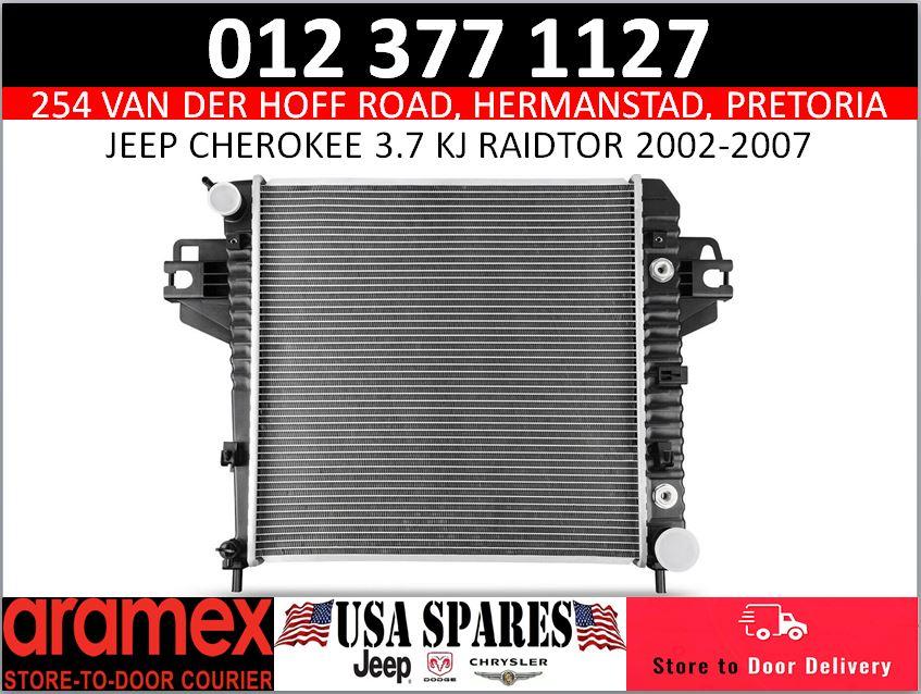 Jeep Cherokee 3.7 KJ radiator 2002-2007