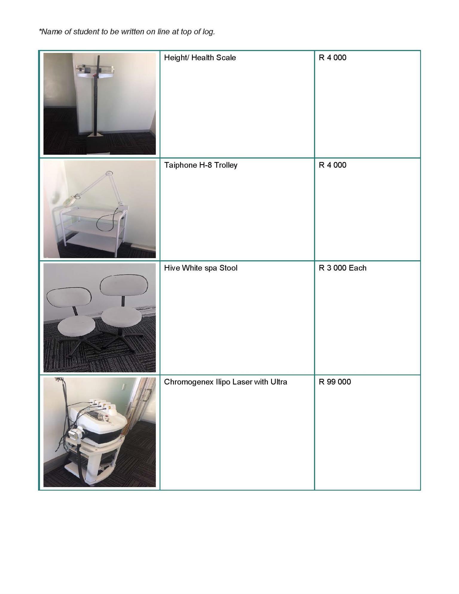 Spa Equipment