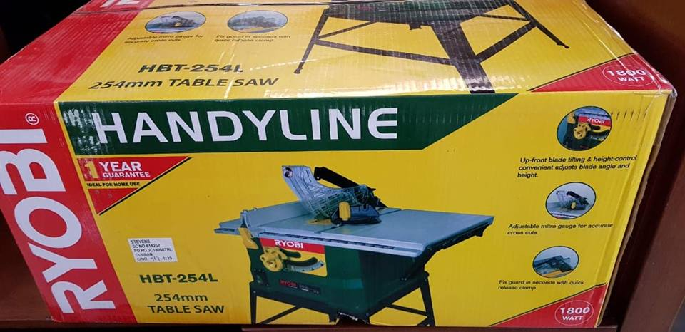 Handyline table saw