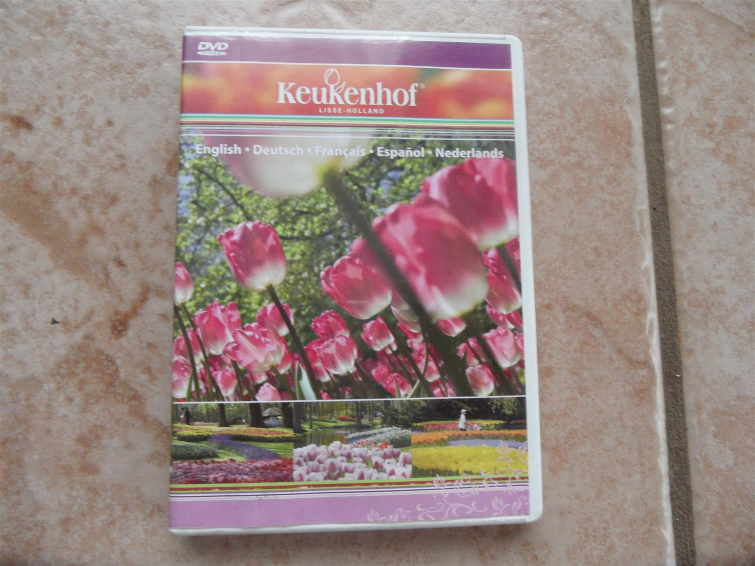 KEUKENHOF GARDENS HOLLAND VIDEO DVD