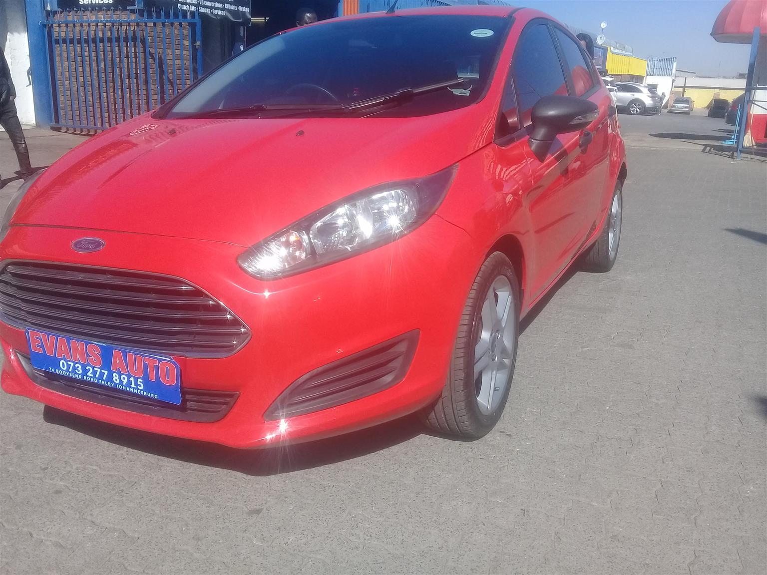 2016 Ford Fiesta hatch 5-door FIESTA 1.5 TDCi TREND 5Dr