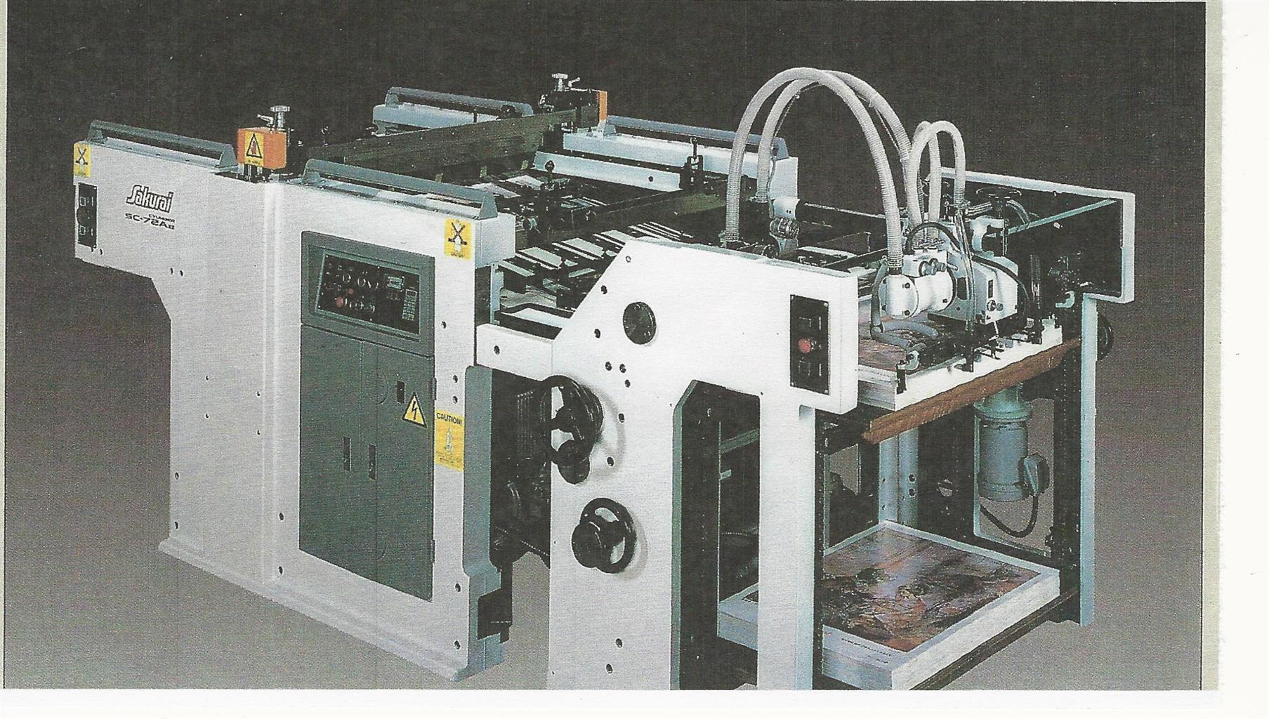 1995, SAKURAI - SC102A11 - SPOT COATING LINE