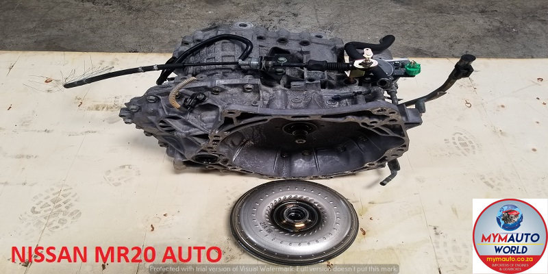 IMPORTED USED NISSAN MR20 AUTOMATIC GEARBOX