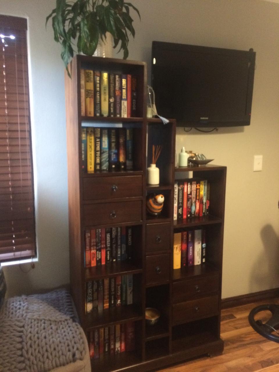 Book/Display Shelf - solid wood