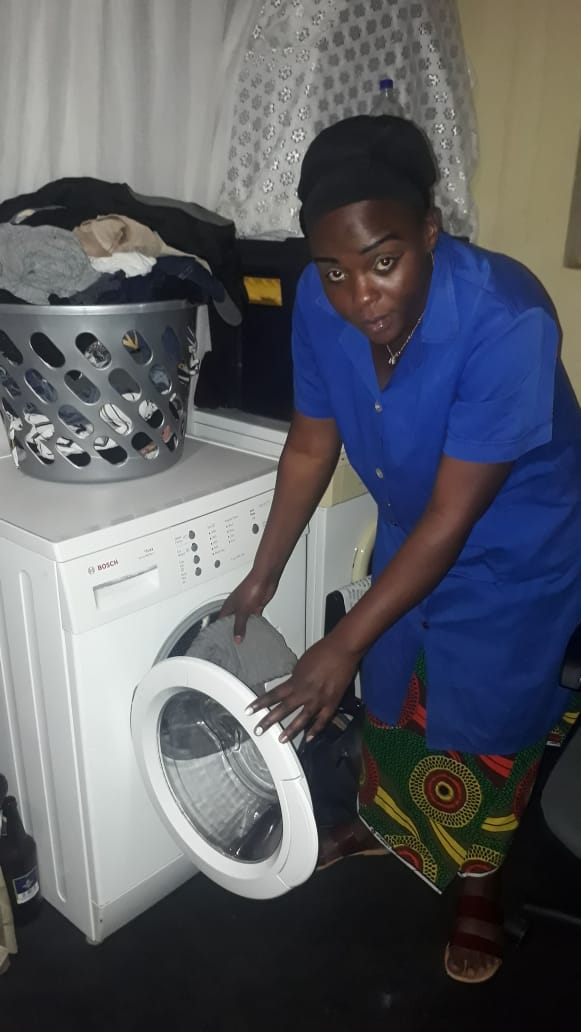 ZAMBIAN DOMESTIC WORKER (Bridget)
