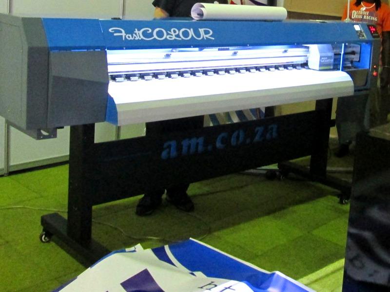 F-1860/ECO/DX7 FastCOLOUR 1860mm Large-Format ECO Solvent Ink Inkjet Printer, EPSON® DX7