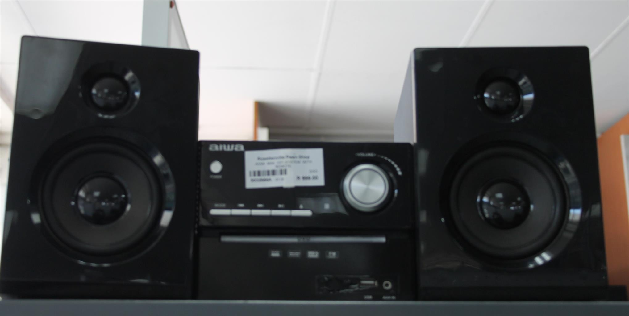 Aiwa mini hifi system with remote S032686A #Rosettenvillepawnshop
