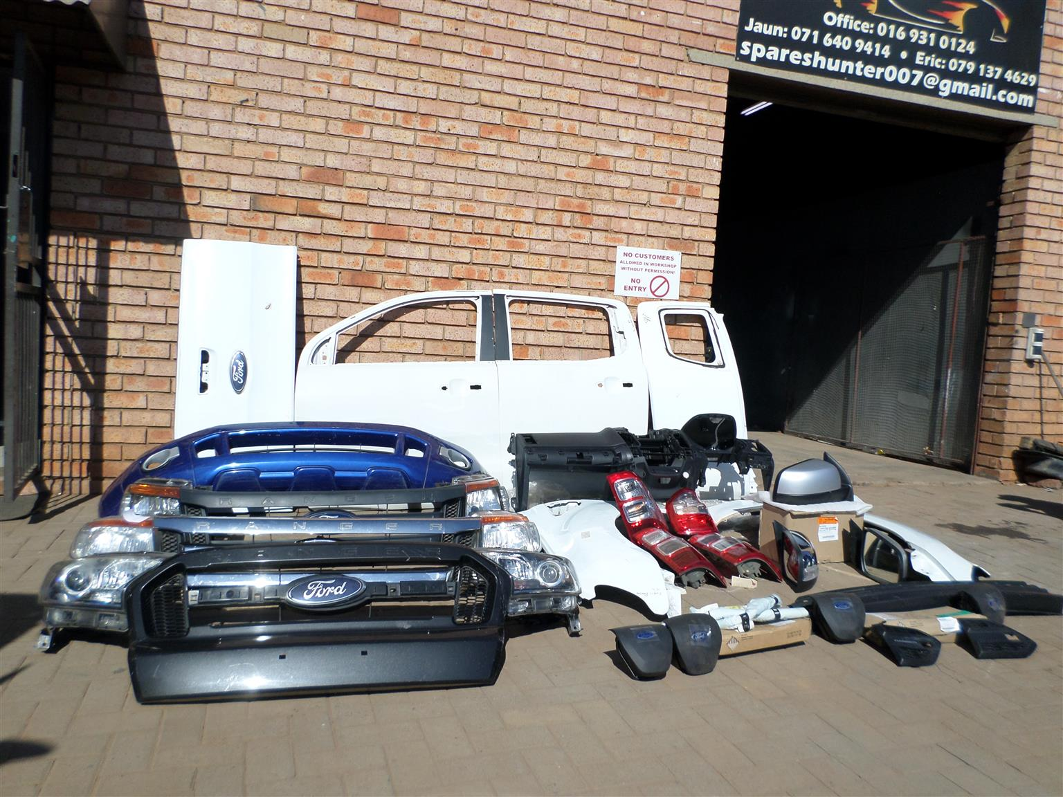 Ford Body Parts >> Ford Ranger T6 T7 Body Parts
