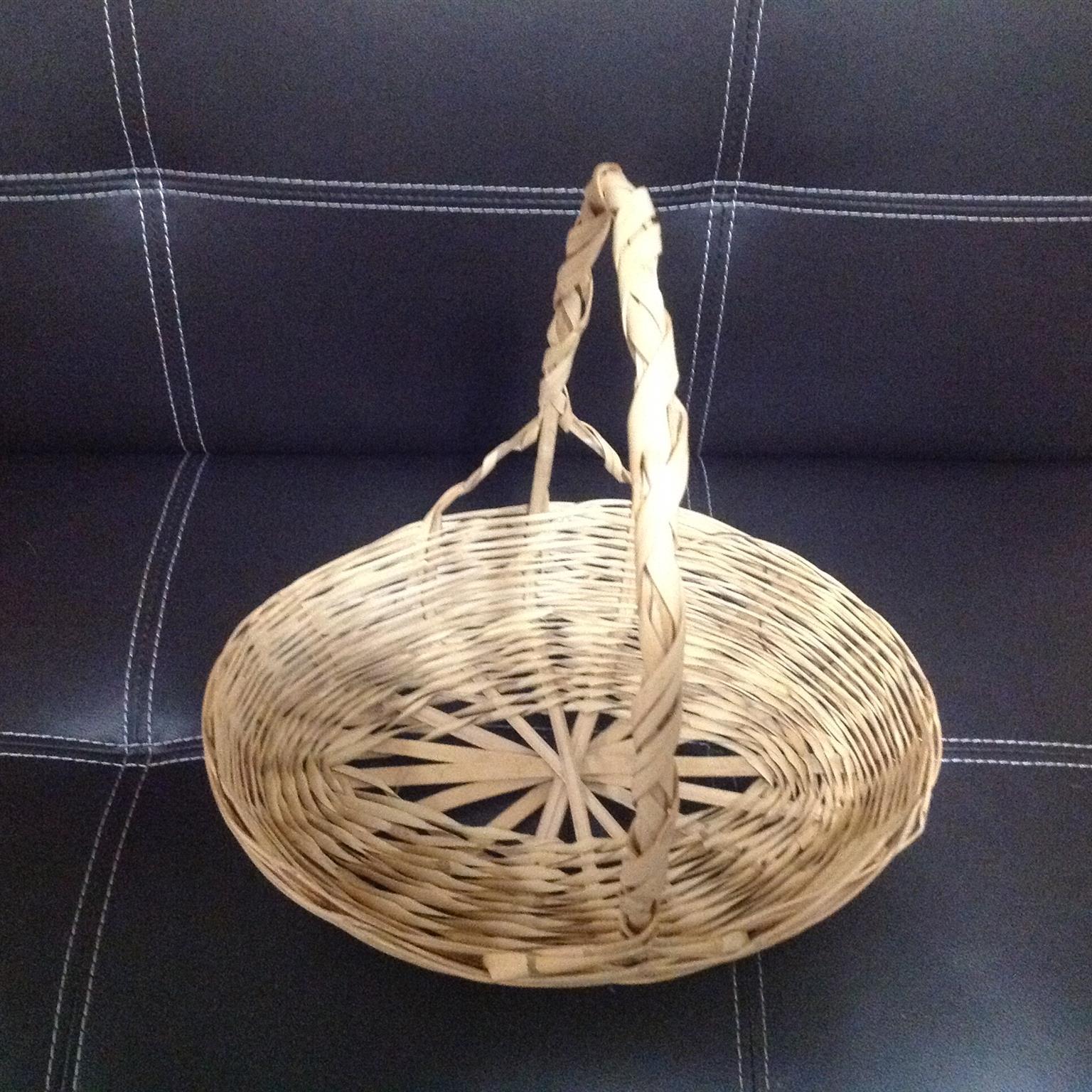 Assorted flower baskets