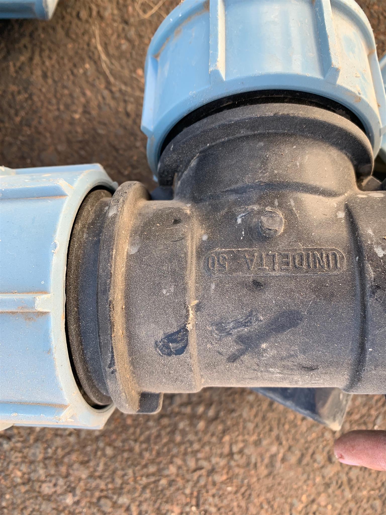 Plumbing HDPE fittings