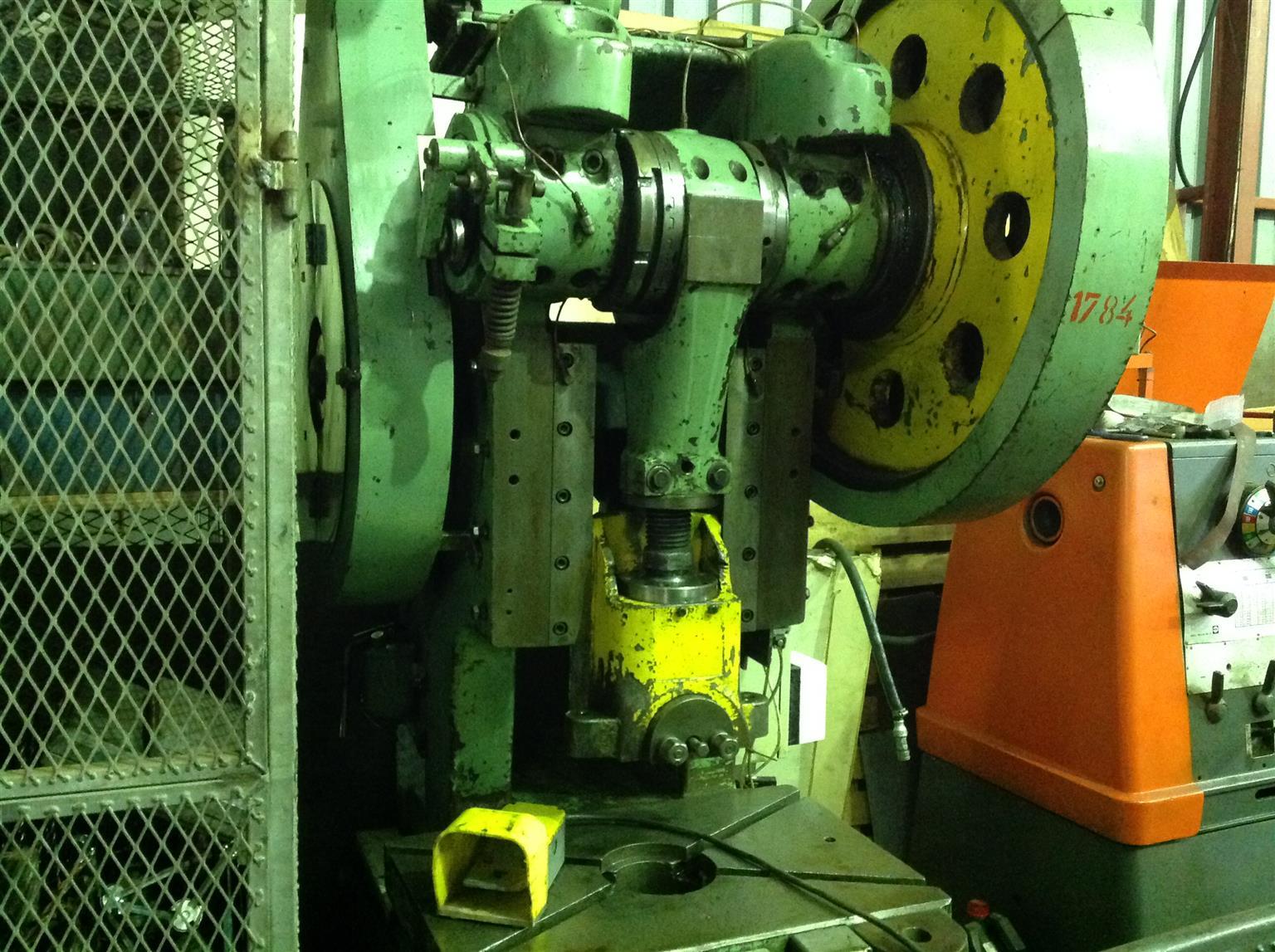 80 ton eccentric press