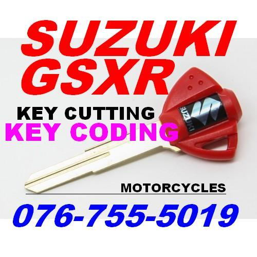 Suzuki GSXR KEY CODING