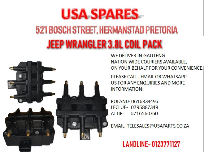 JEEP WRANGLER 3.8L COIL PACK (FOR SALE)