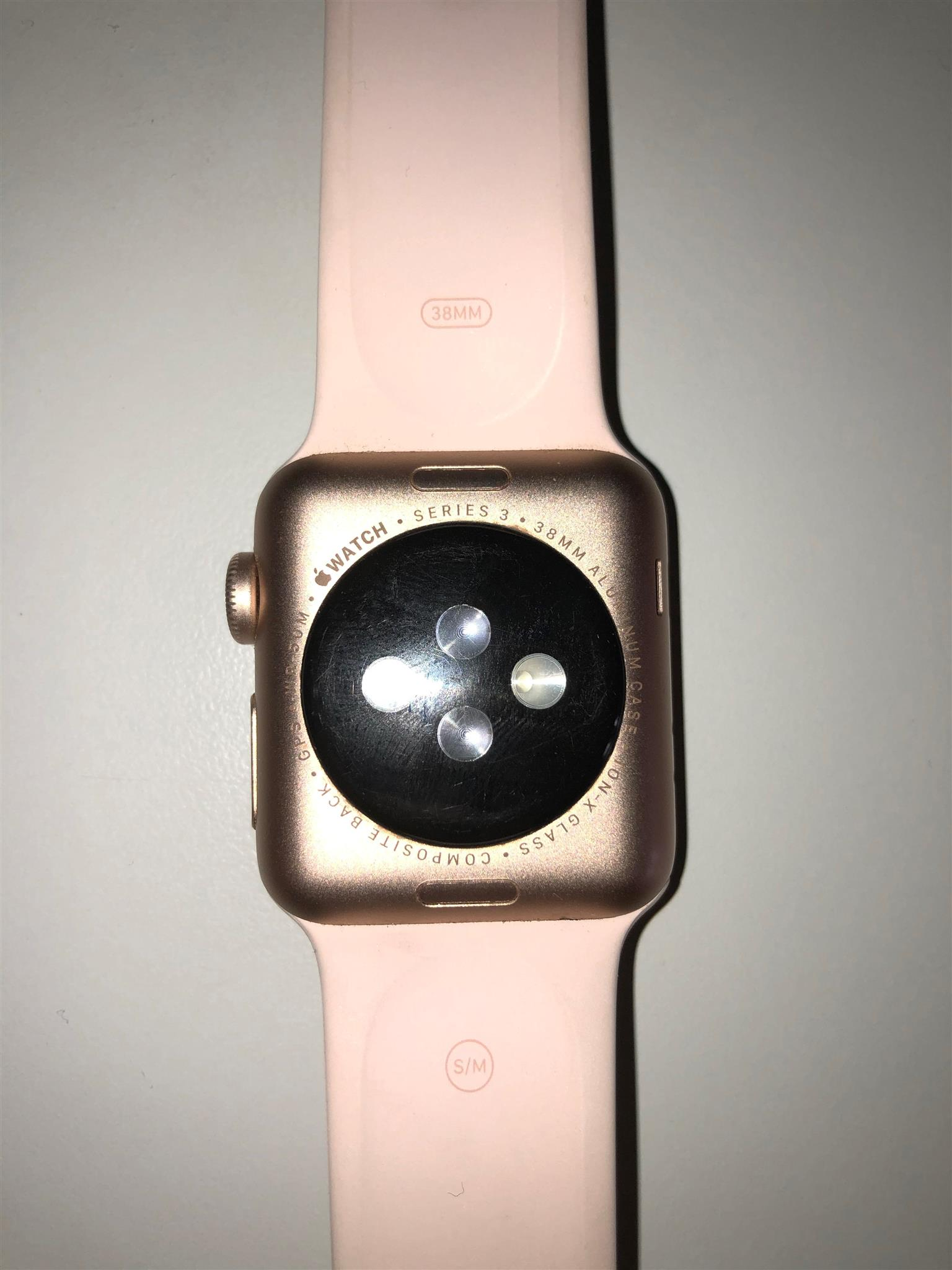 iWatch series 3 38mm rose gold