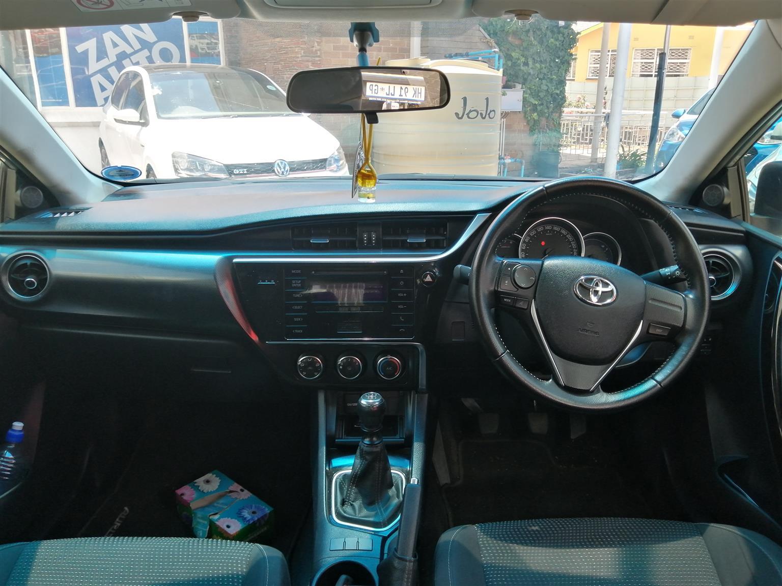 2016 Toyota Auris 1.6 SportX