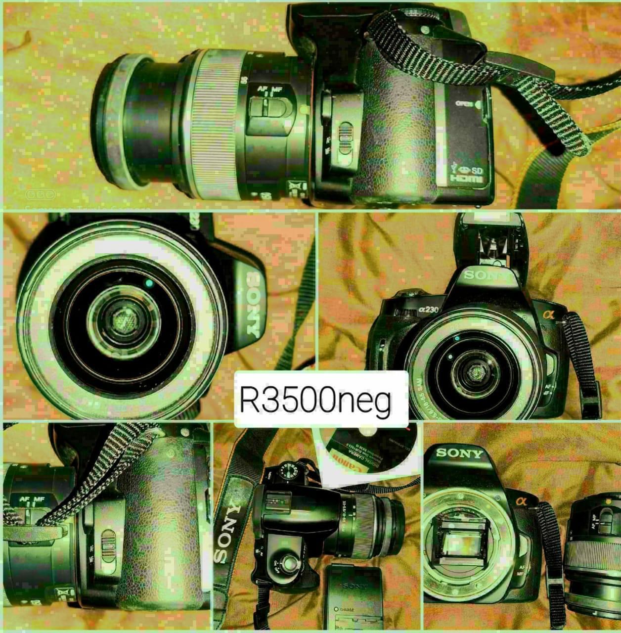 Sony DSLR-A230 Digital Camera
