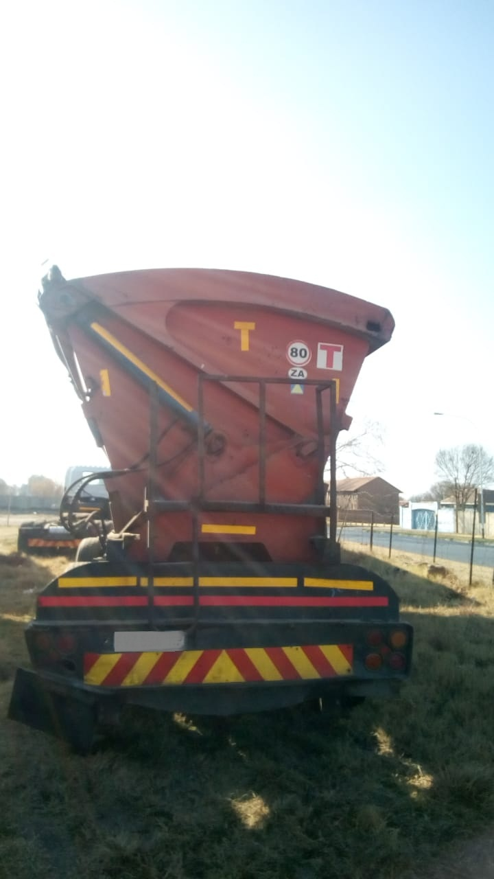SA body  trailer costing a little