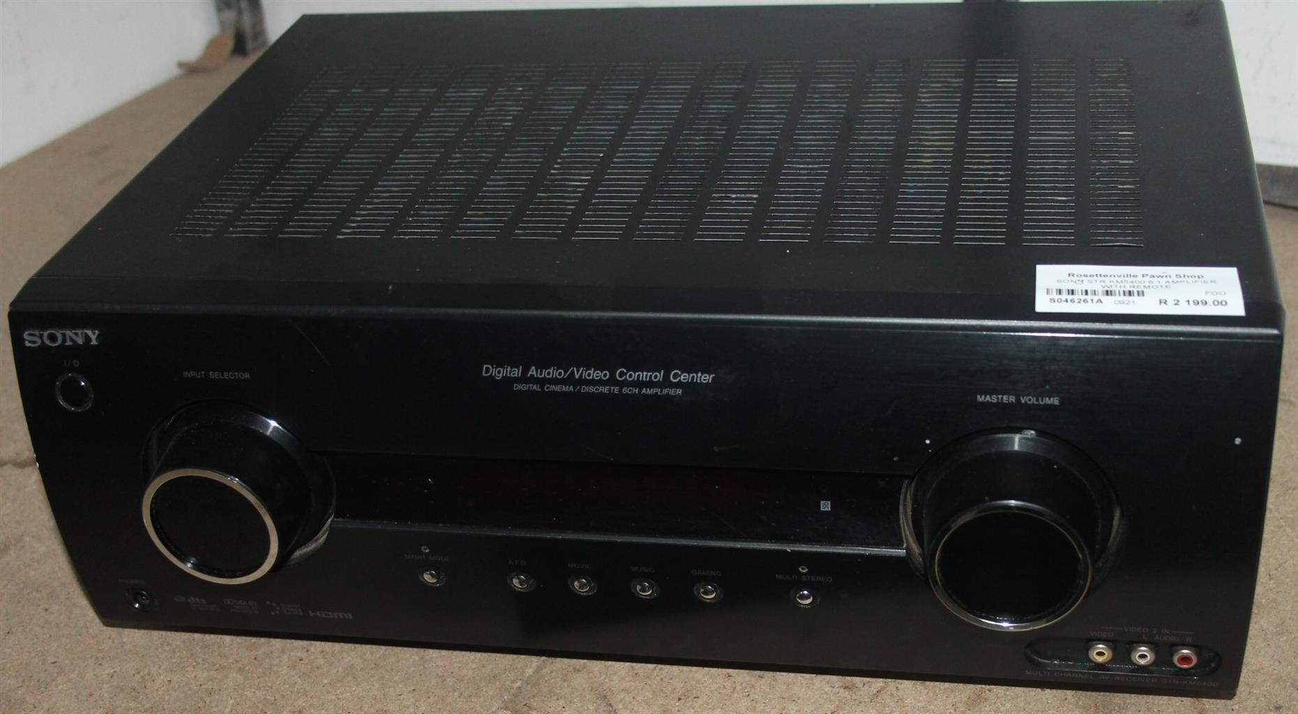 Sony str-lm5400 6.1 amp with remote S046261A #Rosettenvillepawnshop