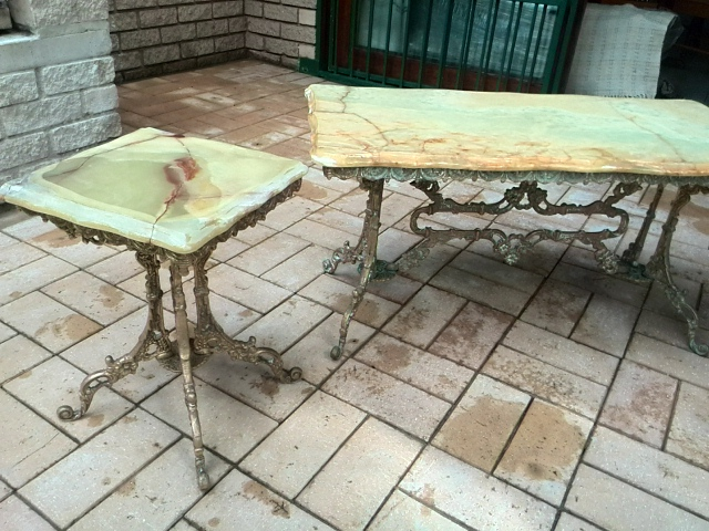 All Mirror Coffee Table.Entry Hall Table Mirror Coffee Table Side Tables All In Solid Brass With Onyx Tops