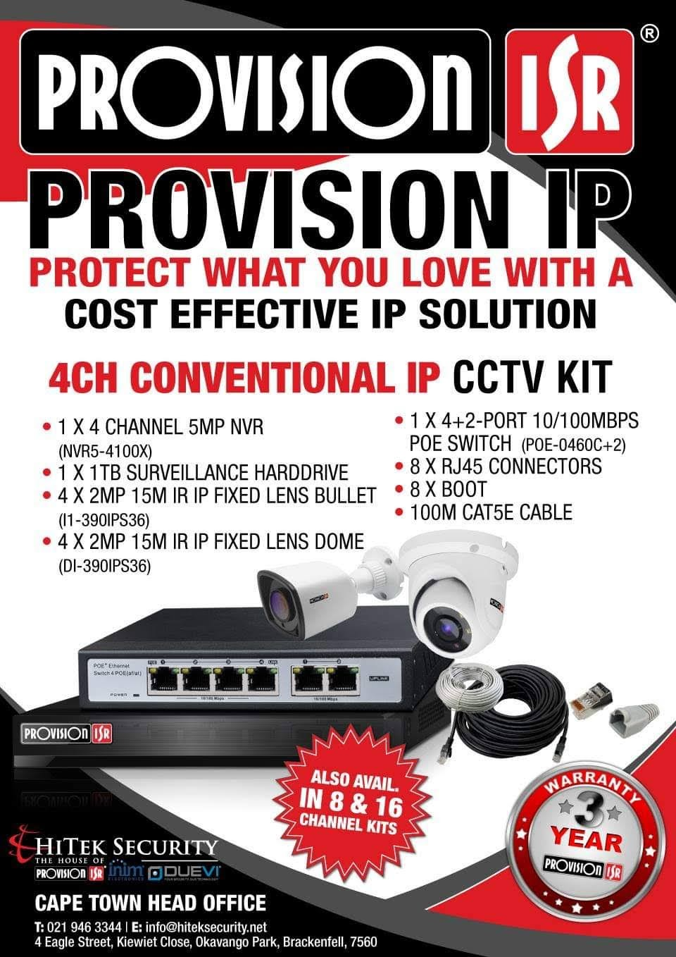 Supplier and Installer of CCTV