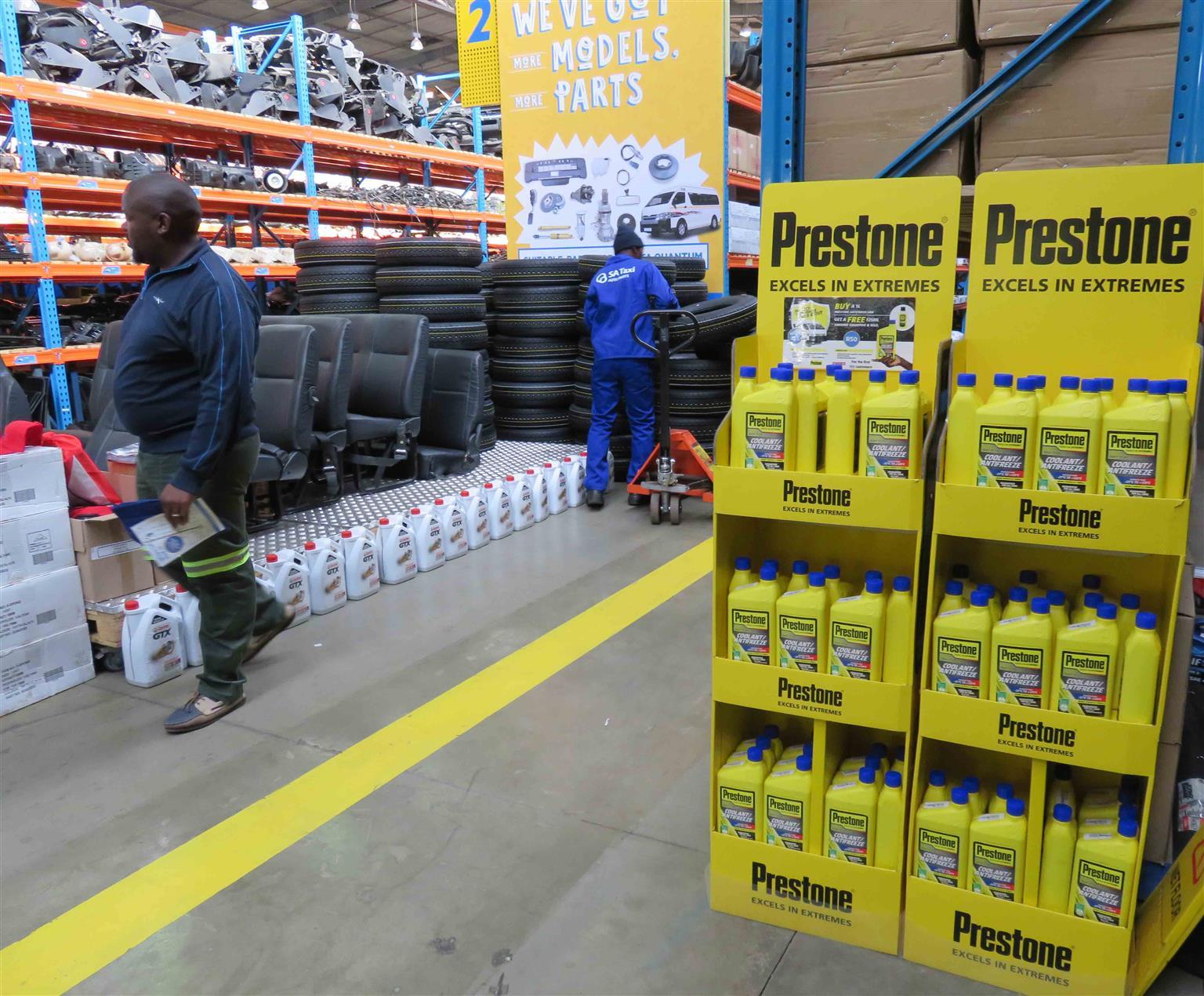 Prestone Coolant / Antifreeze SPECIAL OFFER - Exclusive to SA Taxi Auto Parts