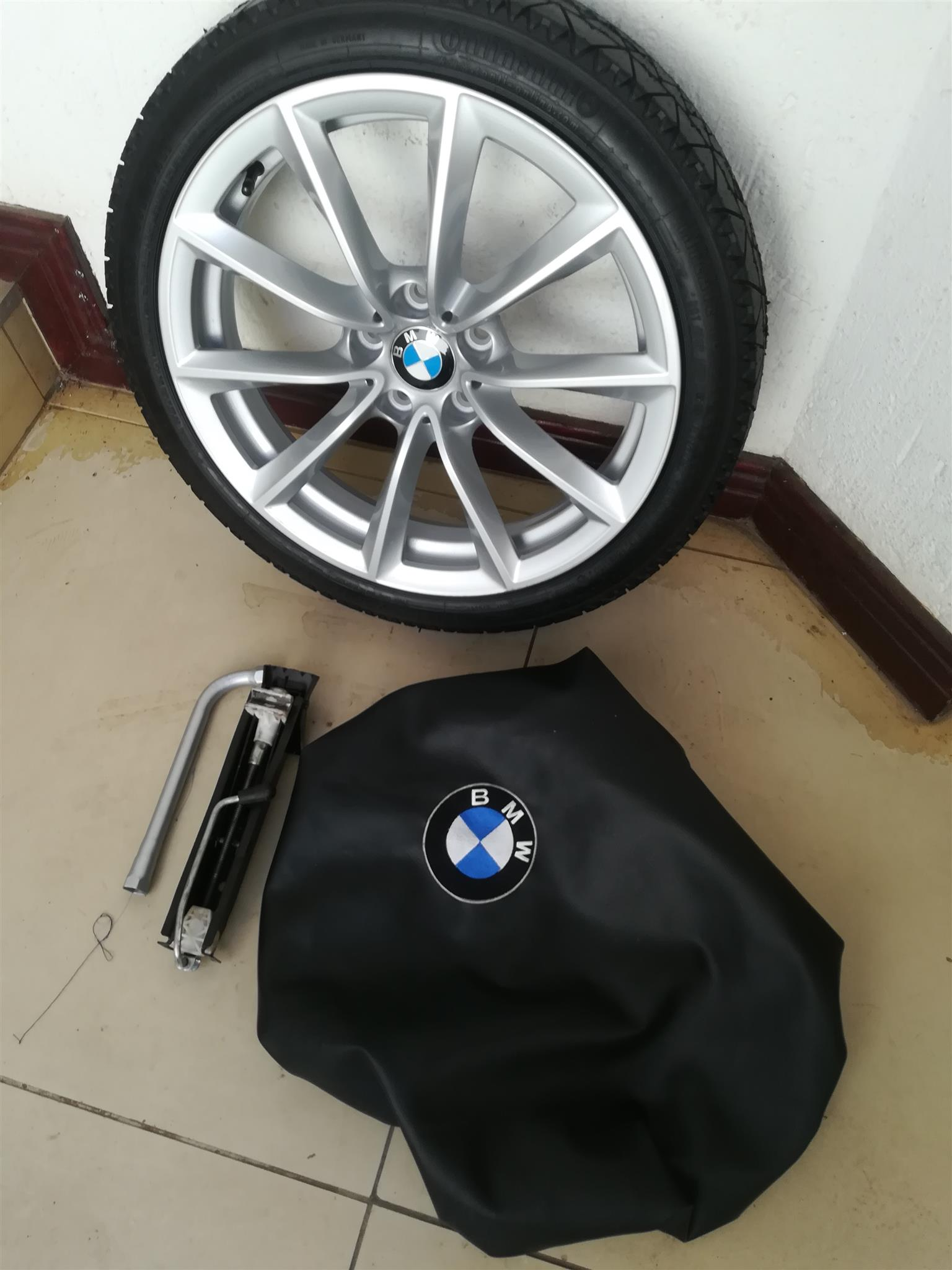 Bmw Grand Coupe 435i And 440i 19 Inch Space Saver Skinny Spare Wheel Kit Junk Mail