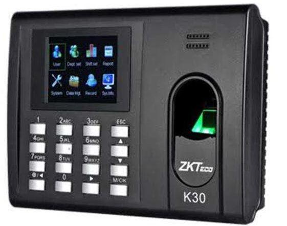 Biometrics time and attendance ZKT K30