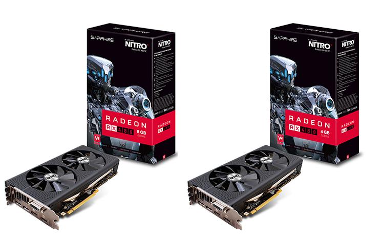 Sapphire Radeon RX 480 8GB GDDR5 HDMI -Brand New