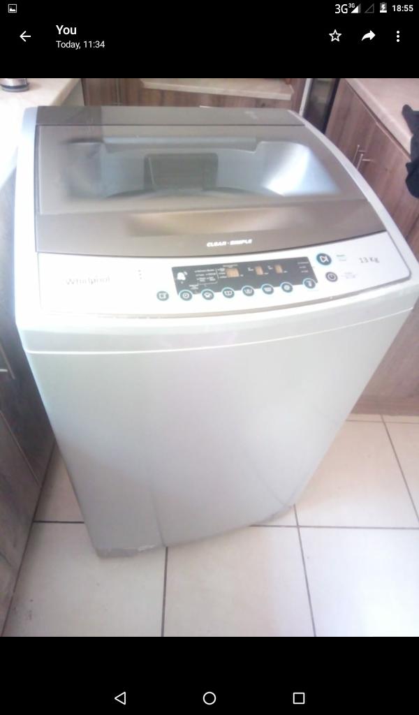 Whirlpool 13kg Washing machine