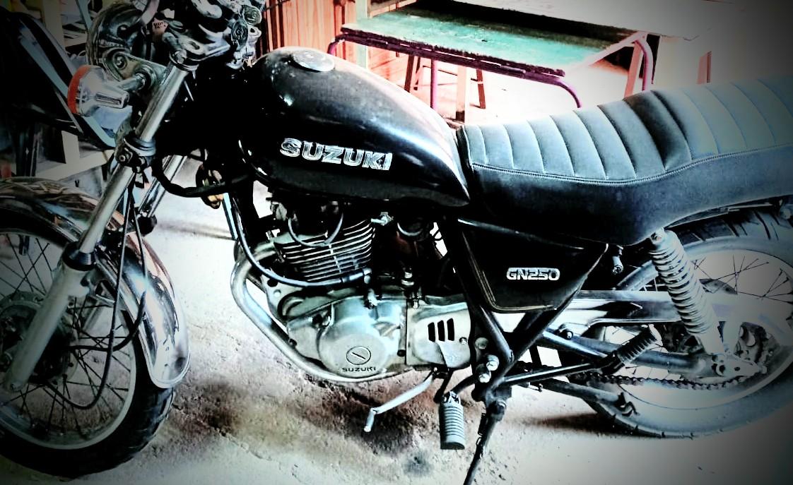 Collectors bike for sale 250cc Suzuki GN  A classic 1980 model!