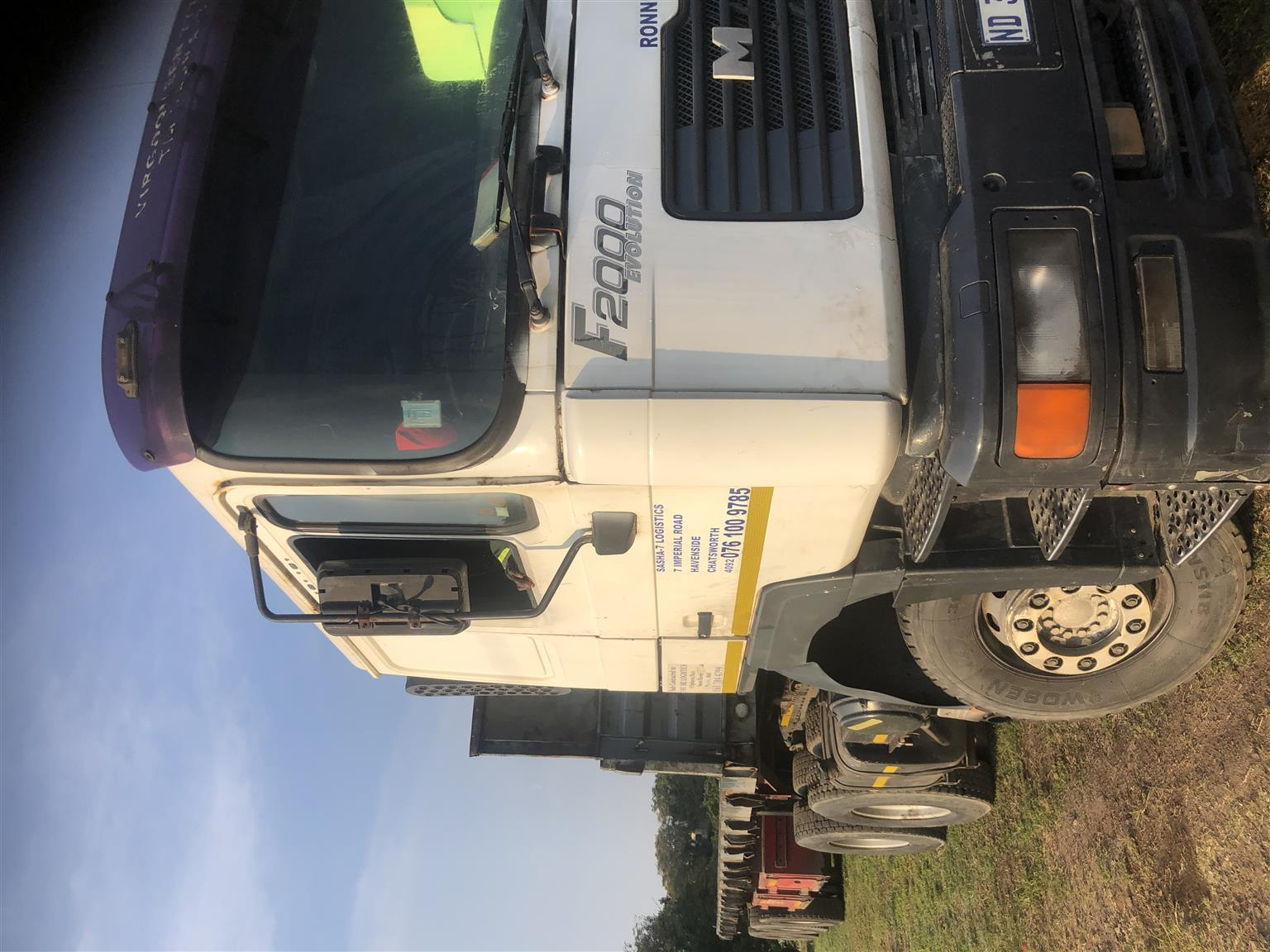 Man truck for sale